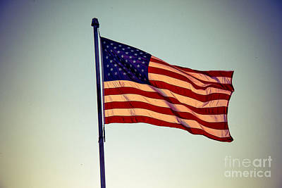 Old Glory Print by Robert Bales