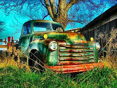 Photograph - Old Green by Julie Dant