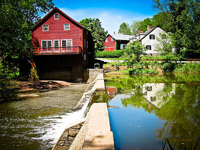 Old Grist Mill  Print by Colleen Kammerer