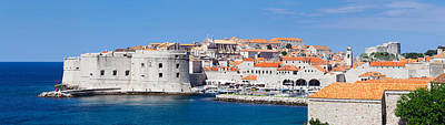 Dubrovnik Photograph - Old Harbor And Old Town Of Dubrovnik by Panoramic Images