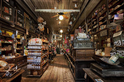 Old Hardware Store Print by Mountain Dreams