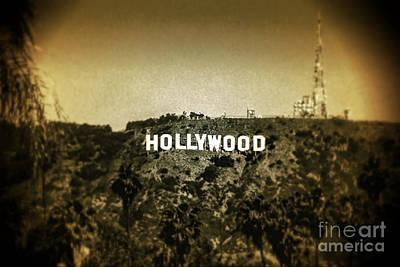 Drive Digital Art - Old Hollywood by Az Jackson