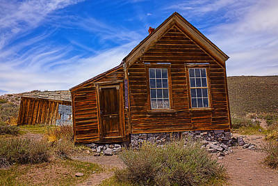 Old House Bodie Print by Garry Gay