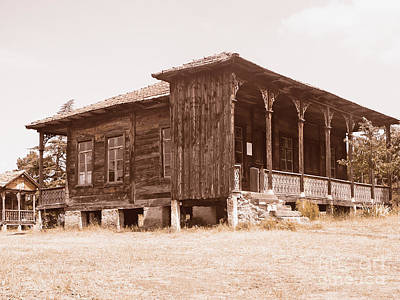 Tbilisi Photograph - Old House by Lali Kacharava