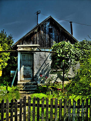 Bosnae Photograph - Old House by Nina Ficur Feenan