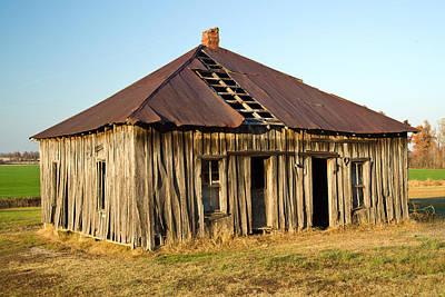 Old House Place Arkansas 2 Print by Douglas Barnett
