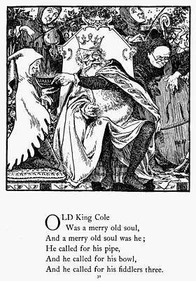 Old King Cole, 1898 Print by Granger