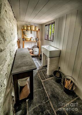 Sink Digital Art - Old Kitchen by Adrian Evans