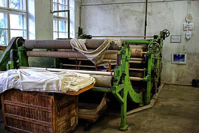 Styria Photograph - Old Machinery by Christine Czernin-Morzin