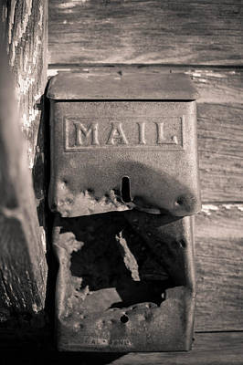 Old Photograph - Old Mail Box by Nathan Hillis