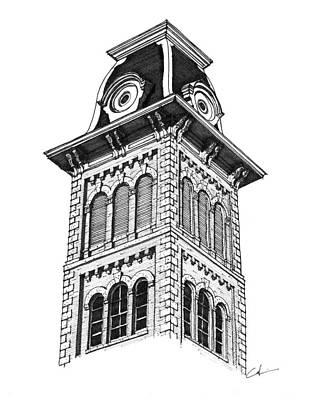 Old Main Ark Print by Calvin Durham