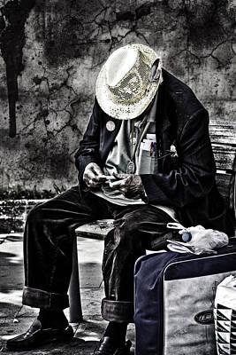 Elderly Photograph - Old Man by Erik Brede