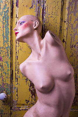 Dummy Photograph - Old Mannequin by Garry Gay