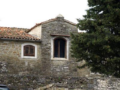 old Mediterranean stone house in Istria Original by Petra Sarac