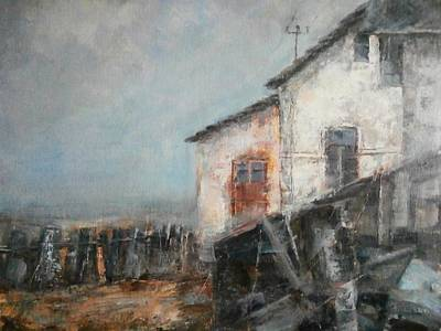 Different Ideas Painting - Old Memories by Milos Pucek