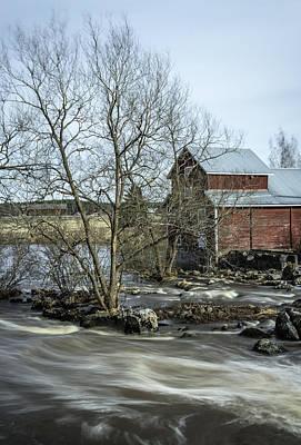 Old Mill 3 Print by Matti Ollikainen