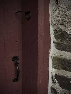 Latch Hook Photograph - Old Mill Door by Photographic Arts And Design Studio