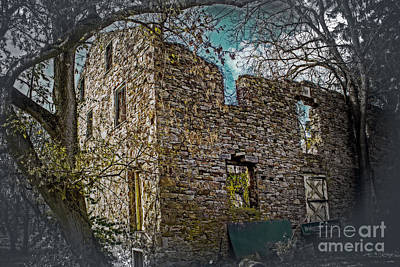 Fall Photograph - Old Mill House by Tom Gari Gallery-Three-Photography