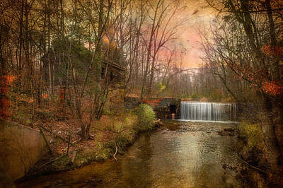 Mills Mixed Media - Old Mill by Michael Petrizzo