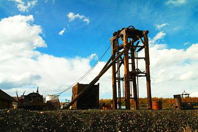 Old Mine In Leadville Colorado Print by Jeff Swan