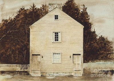 Pleasant Painting - Old Ministry's Shop by Monte Toon