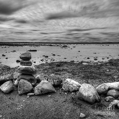 Winery Photograph - Old Mission Peninsula Shoreline by Twenty Two North Photography