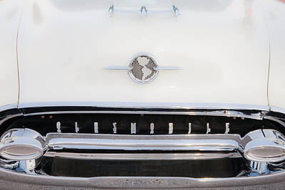 Auto Photograph - Old Olds by Matthew Bamberg
