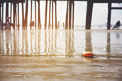 Water Filter Photograph - Old Orchard Beach by Jane Rix