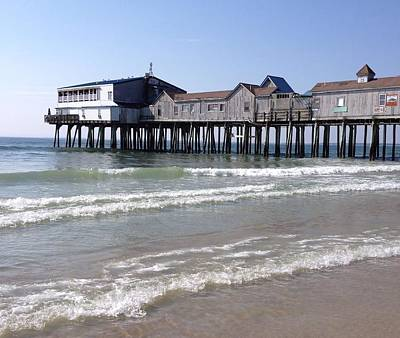 Photograph - Old Orchard Beach Pier by Patricia Urato