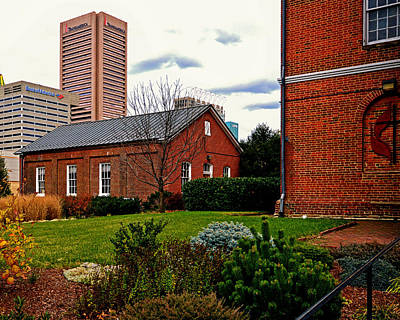 Maryland Photograph - Old Otterbein Nelker Sunday School Building by Bill Swartwout