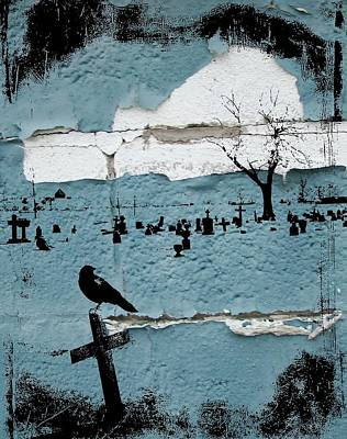 Graveyard Digital Art - Old Paint by Gothicolors Donna Snyder