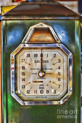 Old Petrol Pump Print by Craig B