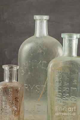 Old Pharmacy Bottle Print by Juli Scalzi