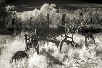 Horse-drawn Plow Photograph - Old Plow by Scott Campbell