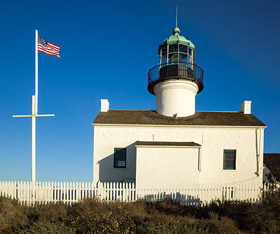 Horizontal Photograph - Old Point Loma Lighthouse by Priya Ghose