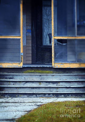 Old Porch Print by Jill Battaglia