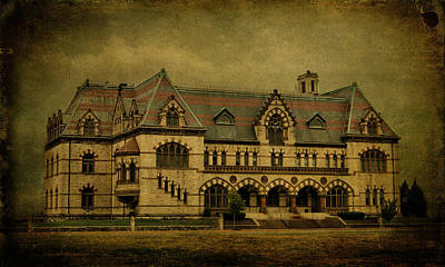 Evansville Photograph - Old Post Office - Customs House by Sandy Keeton