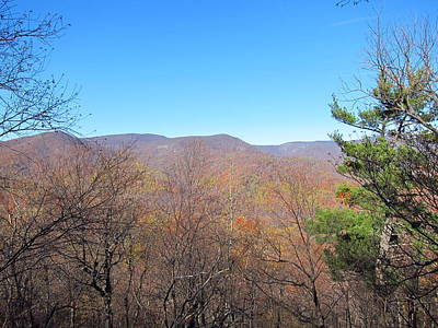 Old Rag Hiking Trail - 121219 Print by DC Photographer