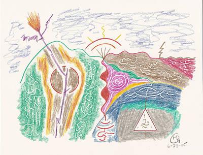 Old Rag Mountain Print by Mark David Gerson