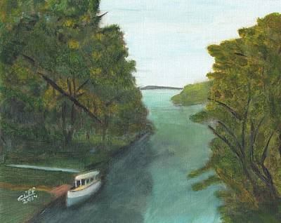 Old River Print by Cliff Wilson