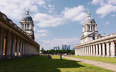 Old Royal Navy College Greenwich Print by Nicky Jameson