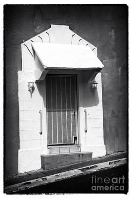 Old San Juan Door Print by John Rizzuto