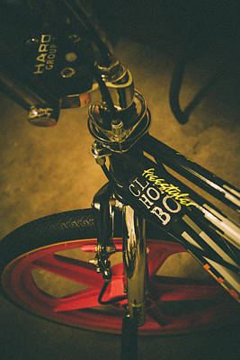 Old School Cool Bmx - 1 Print by Jamian Stayt