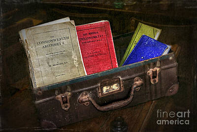Old School Days Print by Kaye Menner