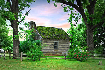 Old School Houses Digital Art - Old School House by Mary Timman