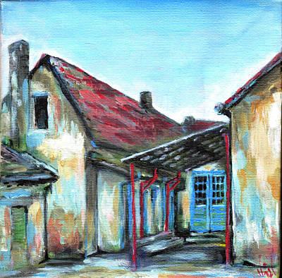 Bosnae Painting - Old School by Vanja Zogovic