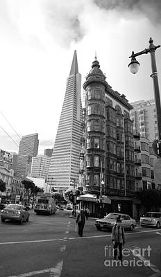 Francis Ford Coppola Photograph - Old Sentinel - New Transamerica by David Bearden