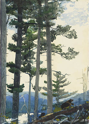 Old Settlers Print by Winslow Homer