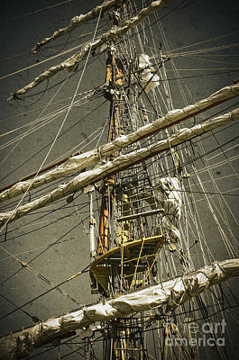 Yacht Photograph - Old Ship by Carlos Caetano