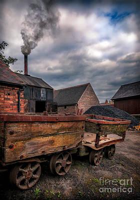Old Smoke Print by Adrian Evans
